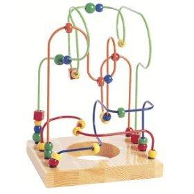 Educo Bead and Wire Maze, L'il Genius - Buy Educo Bead and Wire Maze, L'il Genius - Purchase Educo Bead and Wire Maze, L'il Genius (Hape International, Toys & Games,Categories,Preschool,Pre-Kindergarten Toys)