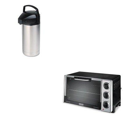 Kitdloro2058Horsv350 - Value Kit - Hormel Commercial Grade Jumbo Airpot (Horsv350) And Delonghi Convection Oven W/Rotisserie (Dloro2058)