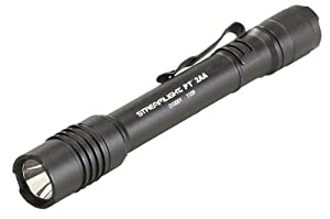 "Streamlight 88033 Protac Tactical Flashlight 2AA with White LED Includes 2 ""AA"" Alkaline Batteries and Holster (Black)"