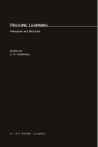 Machine Learning: Paradigms and Methods