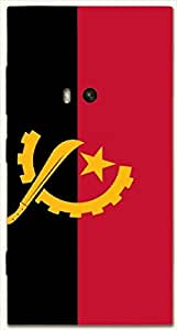 Wonderful multicolor printed protective REBEL mobile back cover for Nokia Lumia 920 D.No.N-L-17993-N920