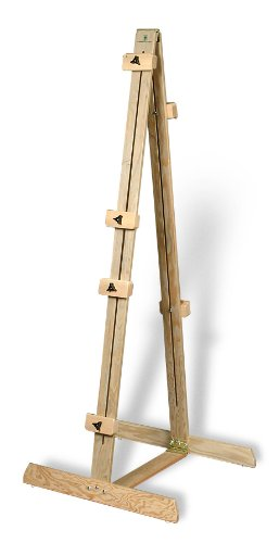 American Easel Neskowin Double Sided Display Easel-Natural Fir