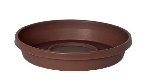 Fiskars 14.69 Inch TerraTray fits 16 Inch TerraPot Planter, Chocolate (Flower Pot Tray Plastic compare prices)