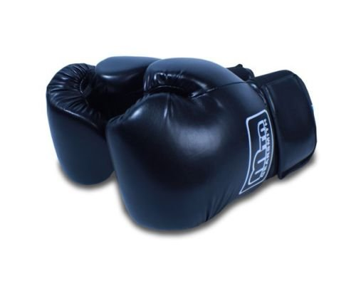new-cielo-blue-pu-professional-style-boxing-training-gloves-14-oz-black