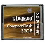 Kingston 32GB Compact Flash Memory Card Ultimate 600x