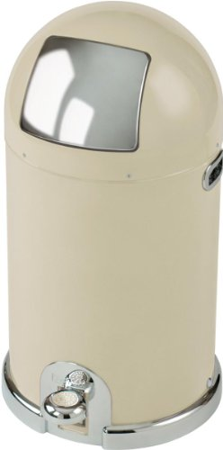 Typhoon Capsule Kitchen Bin, Cream 33Lt