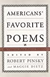 Americans Favorite Poems: The Favorite Poem Project Anthology