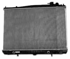 TYC 2409 Nissan 2-Row Plastic Aluminum Replacement Radiator