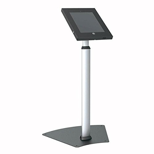 Pyle PSPADLK55 Tamper-Proof Anti-Theft iPad Kiosk Safe Security Public Floor Stand, Holder, Public Display Case with Adjustable Height & Cable Management for iPads 2/3/4 (Tamper Proof Box compare prices)