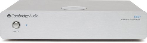 Cambridge - Azur 551P MM Phono Preamp (Silver)