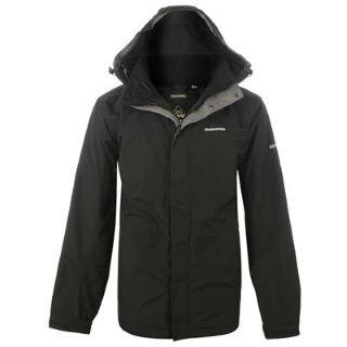 Craghoppers Kiwi GTX Jacket Mens BLACK/BLACK Extra Lge
