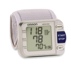 Omron Deluxe Wrist Blood Pressure Monitor With Aps