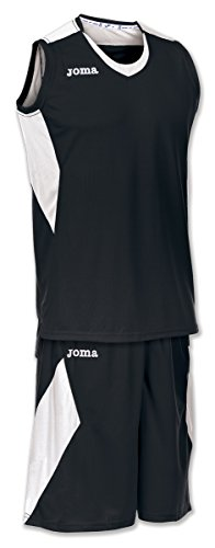 JOMA SET SPACE BLACK-WHITE SLEEVELESS 4XL