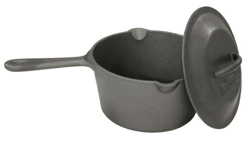 Bayou Classic 7448, 2.5-Qt. Cast Iron Bean Pot with Lid