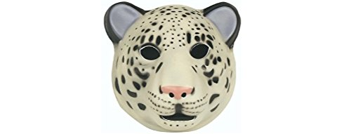 Super Comfort Foam Snow Leopard Mask - 1