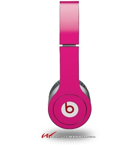 Wraptorskinz Solids Collection Skin For Beats Solo Hd Headphones, Fushia