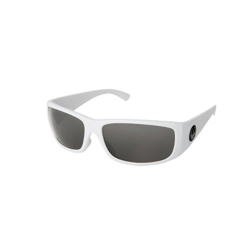 Dragon Alliance Dusk Sunglasses (White with Grey Lens)