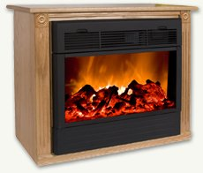 Amazon Com Heat Surge Fireplace With Amish Made Mantle