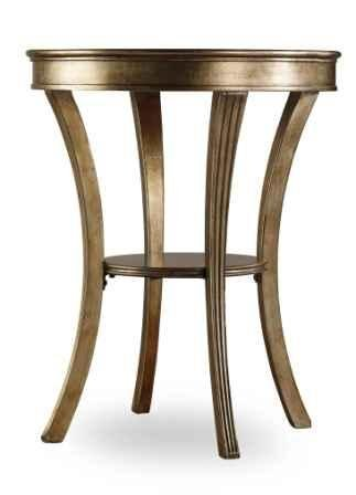 Hooker Sanctuary Round Mirrored Accent Table 3014-50001
