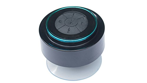 Cylinbt Class 7 Waterproof Wireless Bluetooth Shower Speaker Handsfree Speakerphone For Iphone 5S Android Galaxy Comparable To Bose Soundlink Ultimate Ears Boom Sonos Beats Pill(Blue)