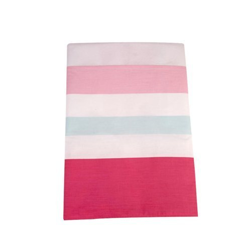 Happy Chic Baby by Jonathan Adler - Olivia Multi Stripe Pink Dust Ruffle - 1