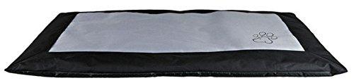 Hunde-Decke-Drago-150--100-cm-schwarzgrau-Outdoor-geeignet