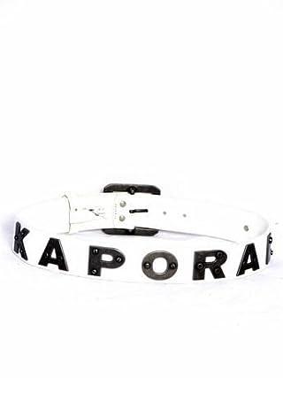 Kaporal 5 - Ceinture Kaporal 5 bold cuir blanc - Taille L