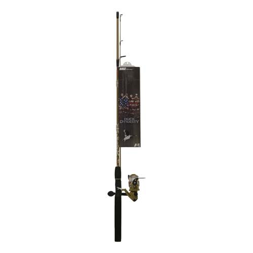 Zebco Duck Dynasty Medium Spincast Combo with Tackle (2-Piece), 6-Feet