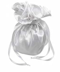 Ivory bridal bridesmaid wedding flowergirl dolly bag