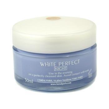 L'Oreal Paris White Perfect Transparent Rosy Whitening Night Cream Size: 50 Ml. (1.7 Oz) front-434412