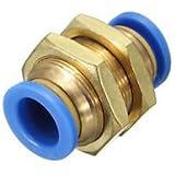 Banggood 5pc 12mm Pneumatic Bulkhead Connector Push In Fittings Air/Water Hose 0-60°C