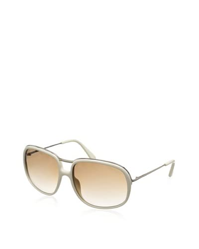 Tom Ford Women's Cori TF282 Sunglasses, Ivory/Bronze As You See