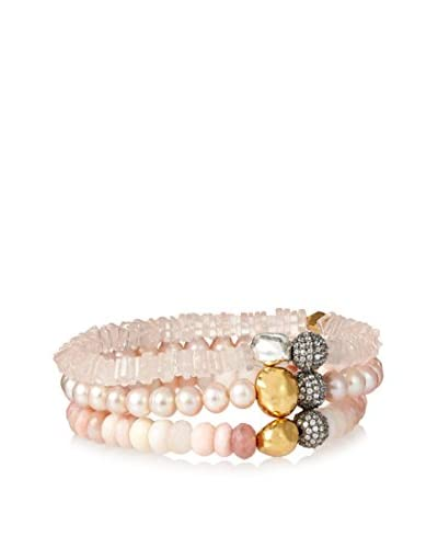 Atelier Mon Quartz, Plated Pearl, Apetite Pave Set Bracelet As You See