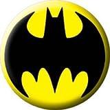 "Batman Button~ Batman Logo~ Button/Pin~ Approx 1.25"""