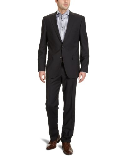 Otto Kern Men's 61250 / 83015 Two-Piece Suit Black (200Schwarz) 52