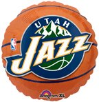 Birthday Express - Utah Jazz Basketball Foil Balloon - , 18""