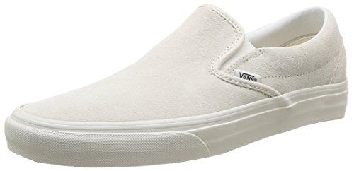 Vans U Classic Slip-On Vintage, Sneakers, Unisex, Bianco (vintage/true white/blanc), 41