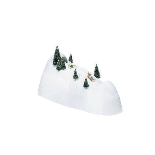 com - Department 56 Village Animated Sledding Hill - Holiday Figurines