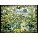 American Puzzles, The Wild West Puzzle, 1000 Pieces Puzzle