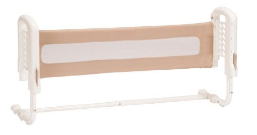 Discover Bargain Safety 1st Top-of-mattress Bed Rail, Cream