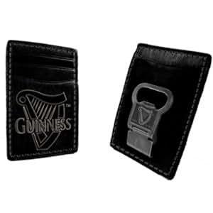 Guinness Bottle Opener Money Clip Wallet