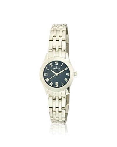 Croton Women's CN207109SSBK Black Stainless Steel Watch
