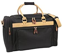 Ddi Deluxe Travel Bag-Black/Khaki (Pack Of 12)