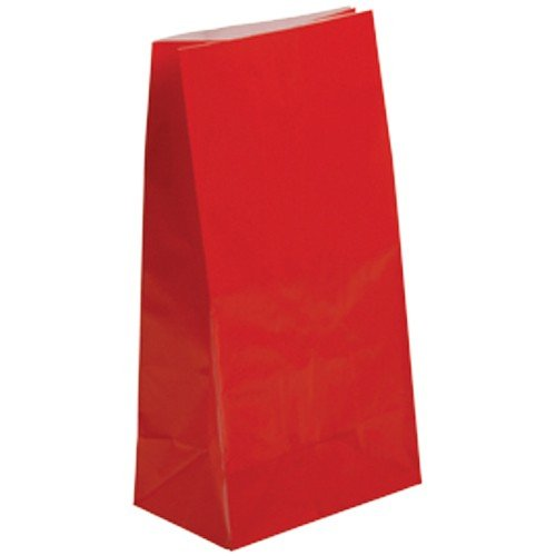 Red Paper Bag (1 Dozen)