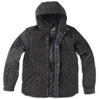 CCS Raddock Jacket - Men's ( sz. M, Black : Nylon Diamond Quilted )