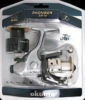Okuma Avenger Baitfeeder Spinning Reel 280-yards15 by Okuma