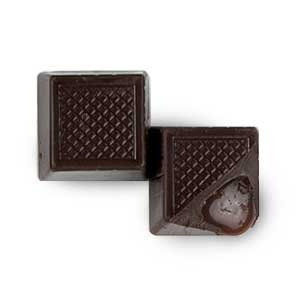 Hauser Chocolate Dark Caramel Squares, 12 Count Box