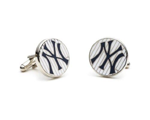MLB New York Yankees Pinstripe Cufflinks
