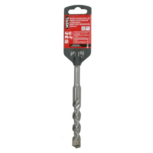Task Tools T75040 SDS Rotary/Hammer Masonry Bit, 9/16-Inch by 4-Inch