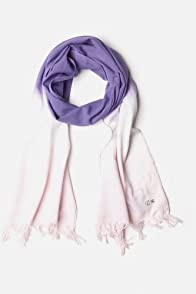 Girl's Cotton Voile Tie Dye Scarf